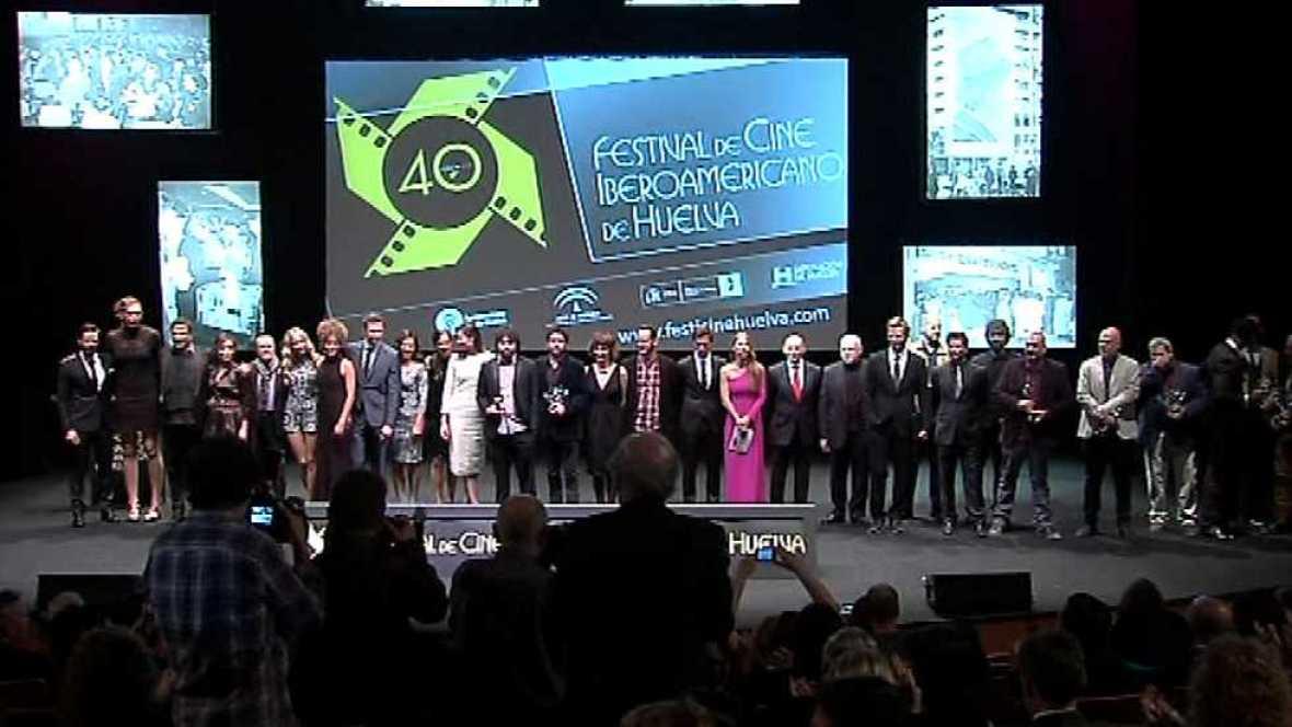 Gala de clausura del Festival de Cine de Huelva 2014 - ver ahora
