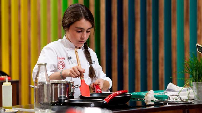 MasterChef - Ana Luna demuestra que la cocina también es para niños