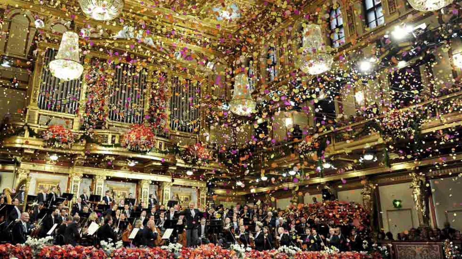 El concierto de año nuevo de Viena, protagonizado por vals ...
