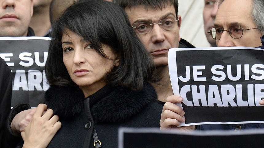 """La viuda del director de Charlie Hebdo: """"Él sabía que iba a morir"""""""