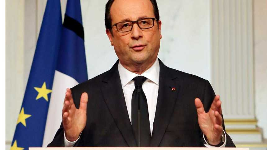 "Hollande llama a ser ""implacables"" con el racismo y el antisemitismo"