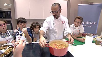 MasterChef Junior 2 - Clase de arroz
