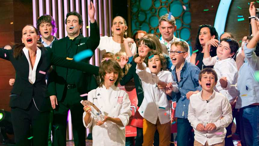 Manuel, ganador MasterChef Junior 2