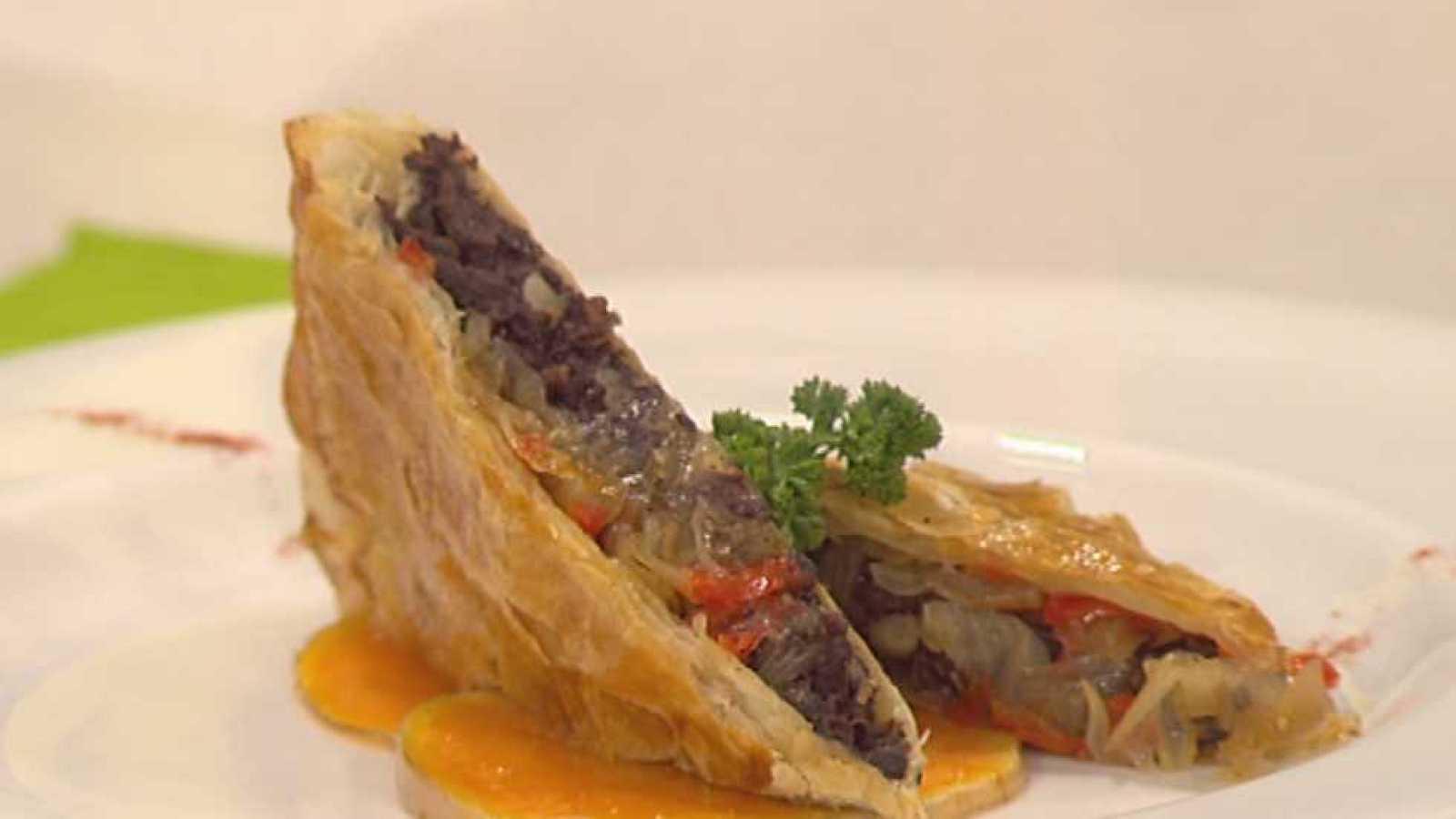 Cocina con Sergio - Empanada de morcilla y cebolla caramelizada ...