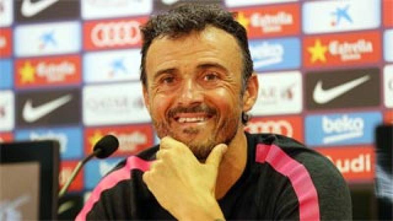 "Luis Enrique, sobre Messi: ""No me interesan las pólemicas"""