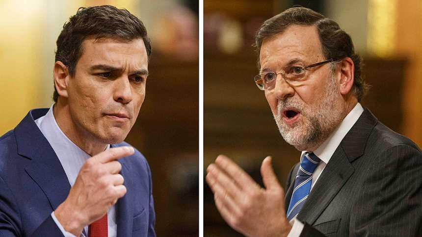 Pedro Sánchez y Mariano Rajoy protagonizan un durísimo cara a cara
