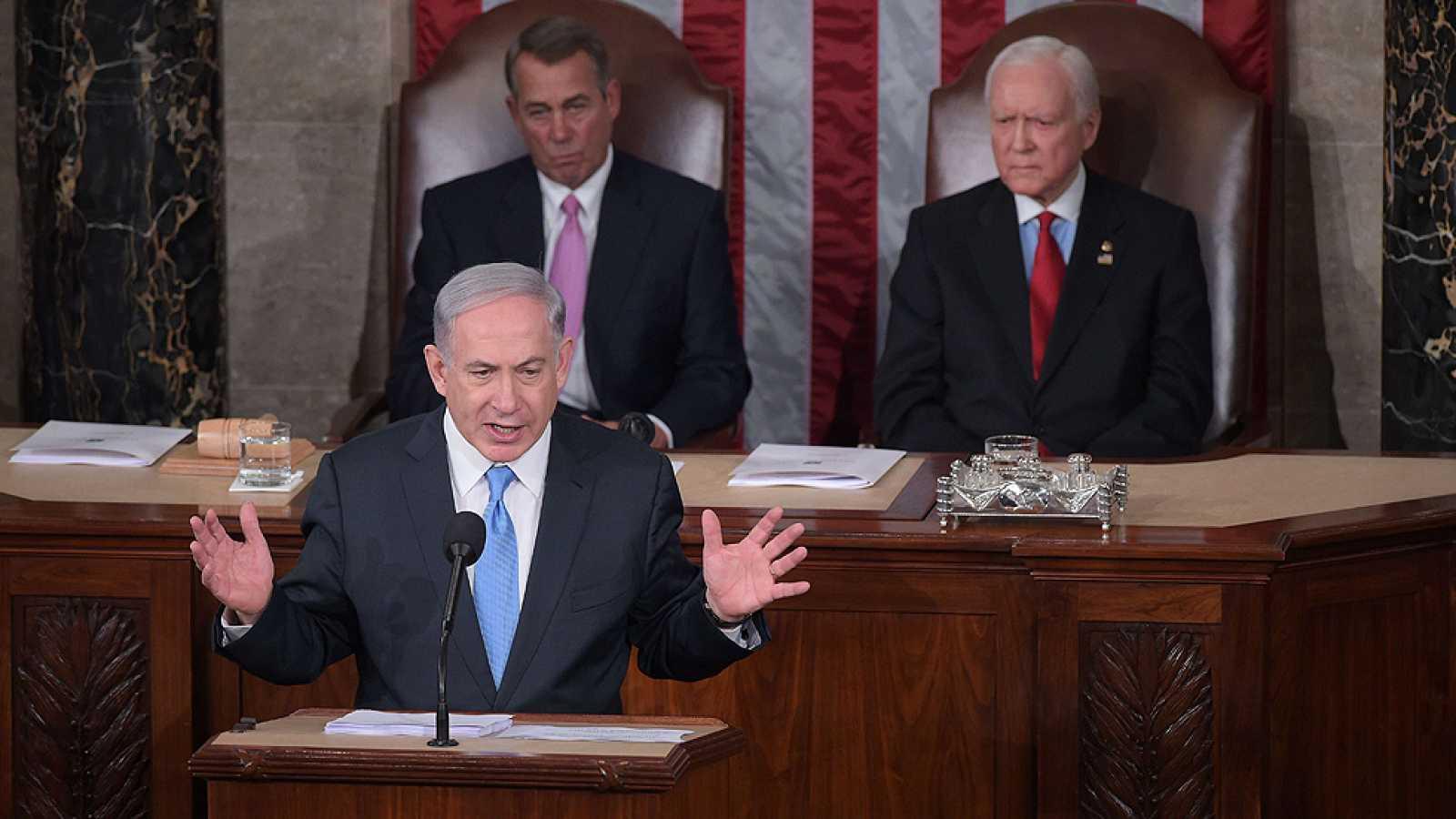 Netanyahu, ante el Congreso de EE.UU.: \