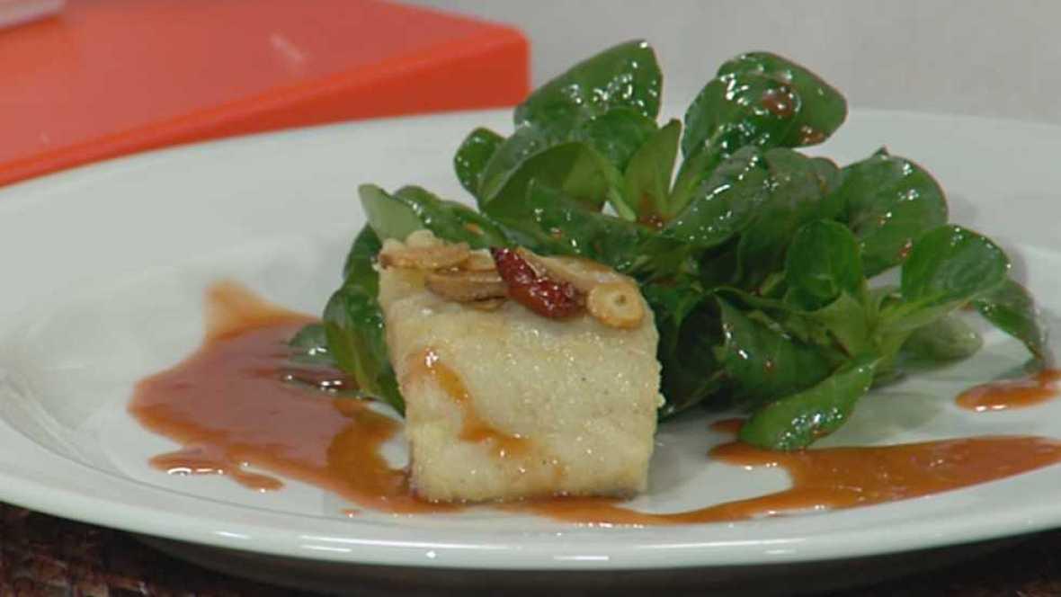 Cocina con sergio bacalao con salsa de fresas - Cocina con sergio pepa ...