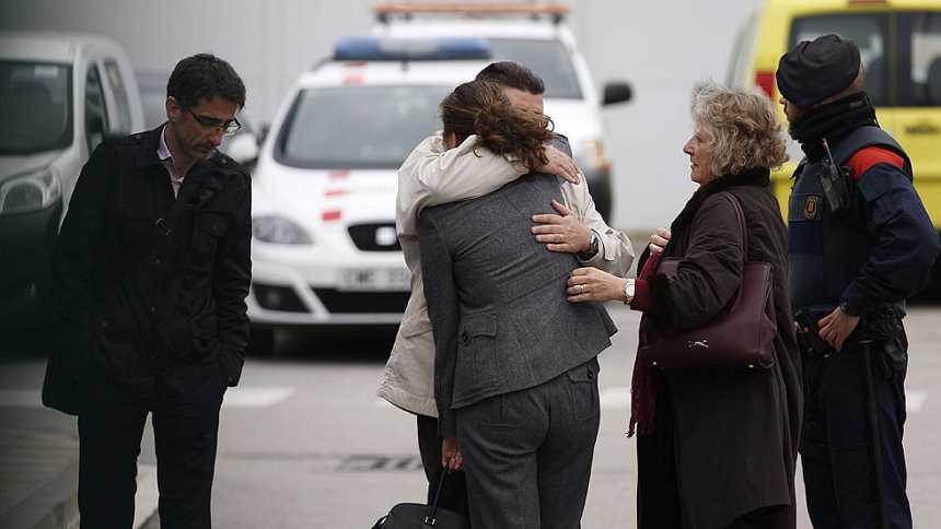Se estrella un avión con 150 personas en los Alpes que volaba de Barcelona a Düsseldorf