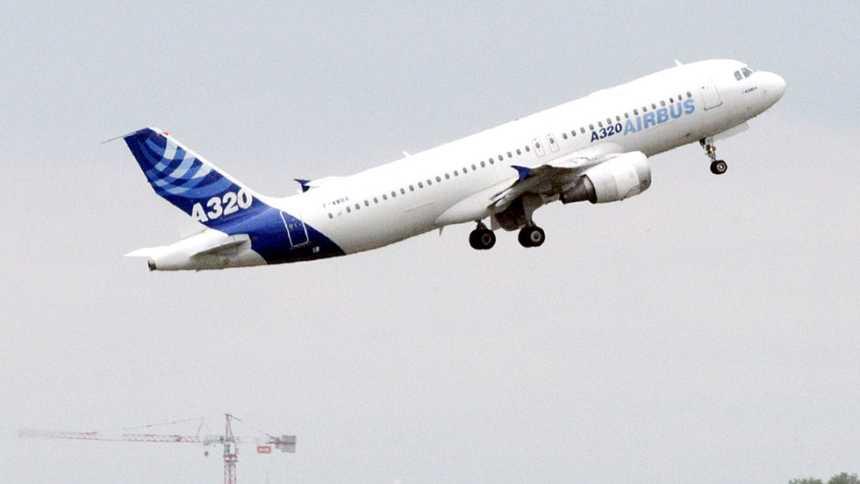 El modelo A320 es el avión comercial más vendido de Airbus
