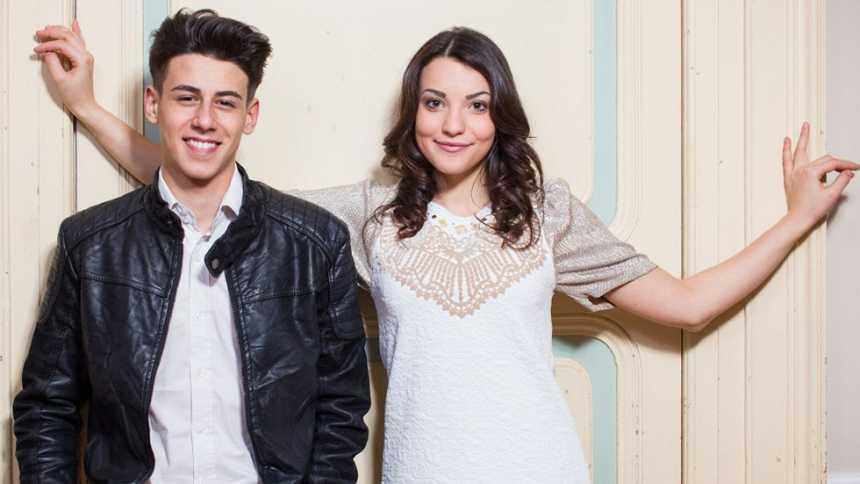 "Eurovisión 2015 - San Marino: Videoclip de Anita Simoncini & Michele Perniola - ""Chain of lights"""