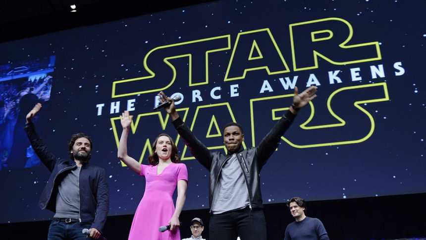 "El 18 de diciembre se estrena ""Star Wars: El despertar de la fuerza"""