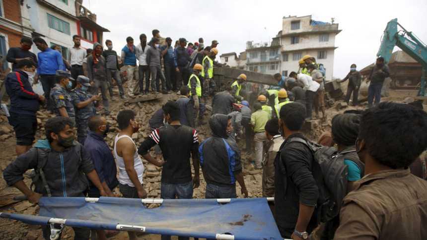 El terremoto más grave de los ocurridos en Nepal desde 1934