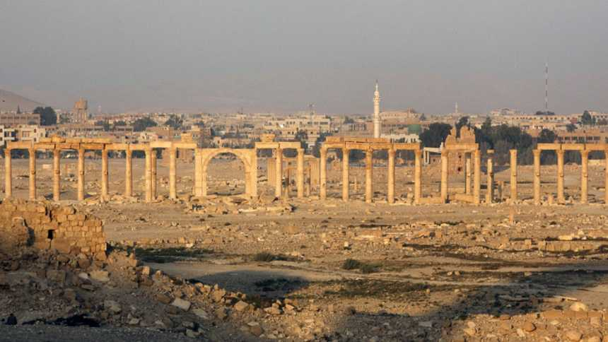 El Estado Islámico toma Palmira, ciudad Patrimonio de la Humanidad