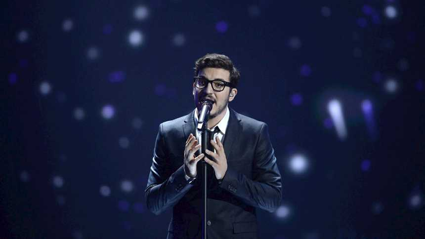 Eurovisión 2015 - Semifinal 2 - Chipre: Giannis Karagiannis canta 'One Thing I Should Have Done'