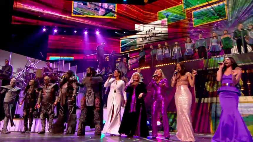 Eurovisión 2015 - 60º Aniversario - Actuación final de todos los artistas