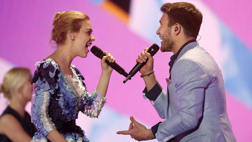 "Eurovisión 2015 - Lituania - Monika Linkyt y Vaidas Baumila - ""This time"""
