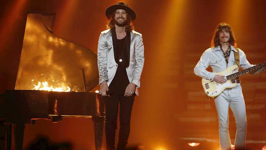 "Eurovisión 2015 - Austria: The Makemakes - ""I'm Yours"""