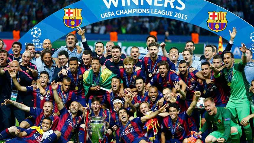 Juventus 1 - FC Barcelona 3