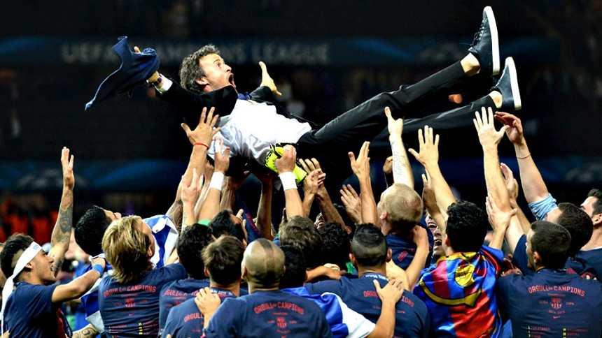 El Barça pone la 'quinta' para regalarse su segundo triplete