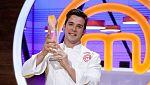 Carlos es el ganador de la tercera edición de Masterchef