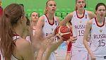 Baloncesto - Campeonato de Europa femenino Sub-20. 1/4 Final: Rusia-Portugal