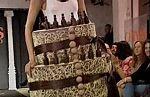 Desfile de trajes de chocolate
