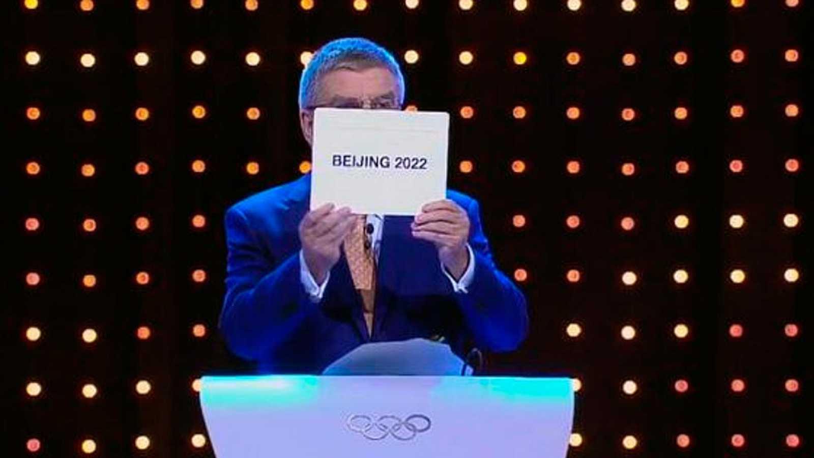 Pekin Sede De Los Juegos Olimpicos De Invierno De 2022 Rtve Es