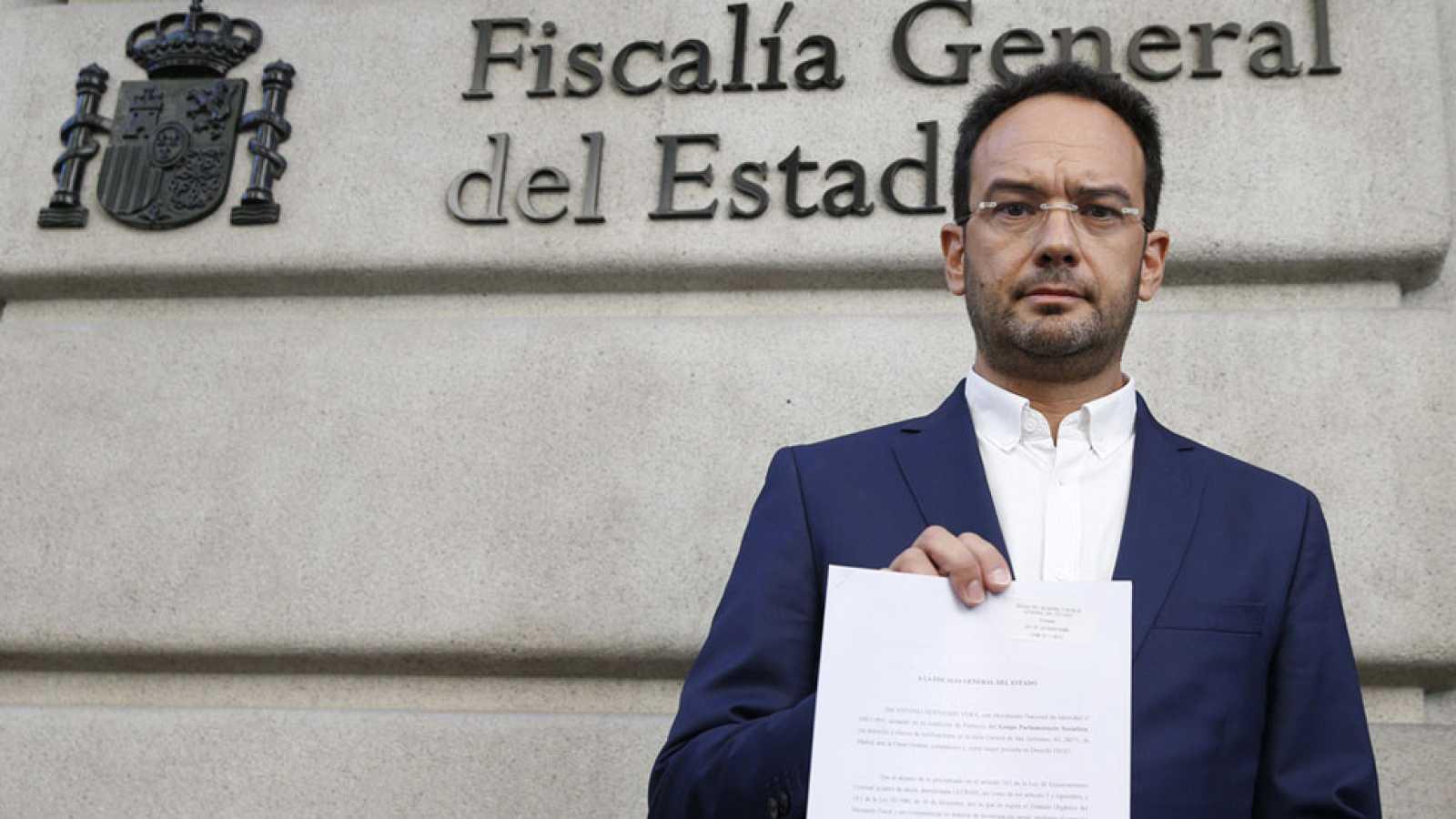 El Psoe Denuncia Al Ministro Del Interior Ante La Fiscal A