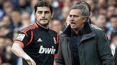 El reencuentro de Mourinho y Casillas en Champions