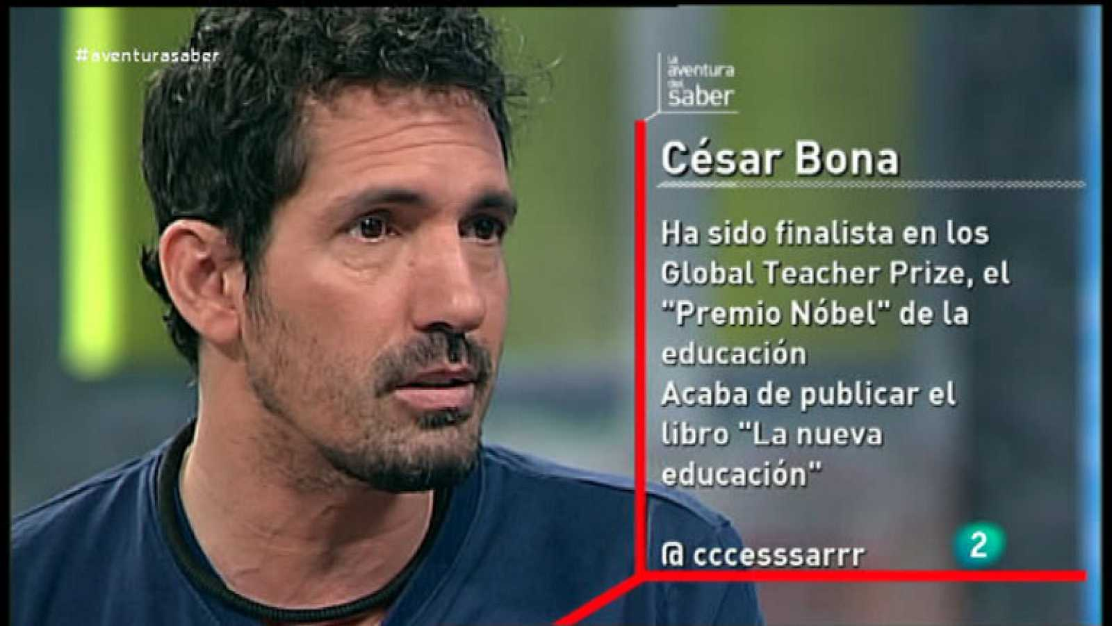 La Aventura del Saber. César Bona. Global Teacher Prize