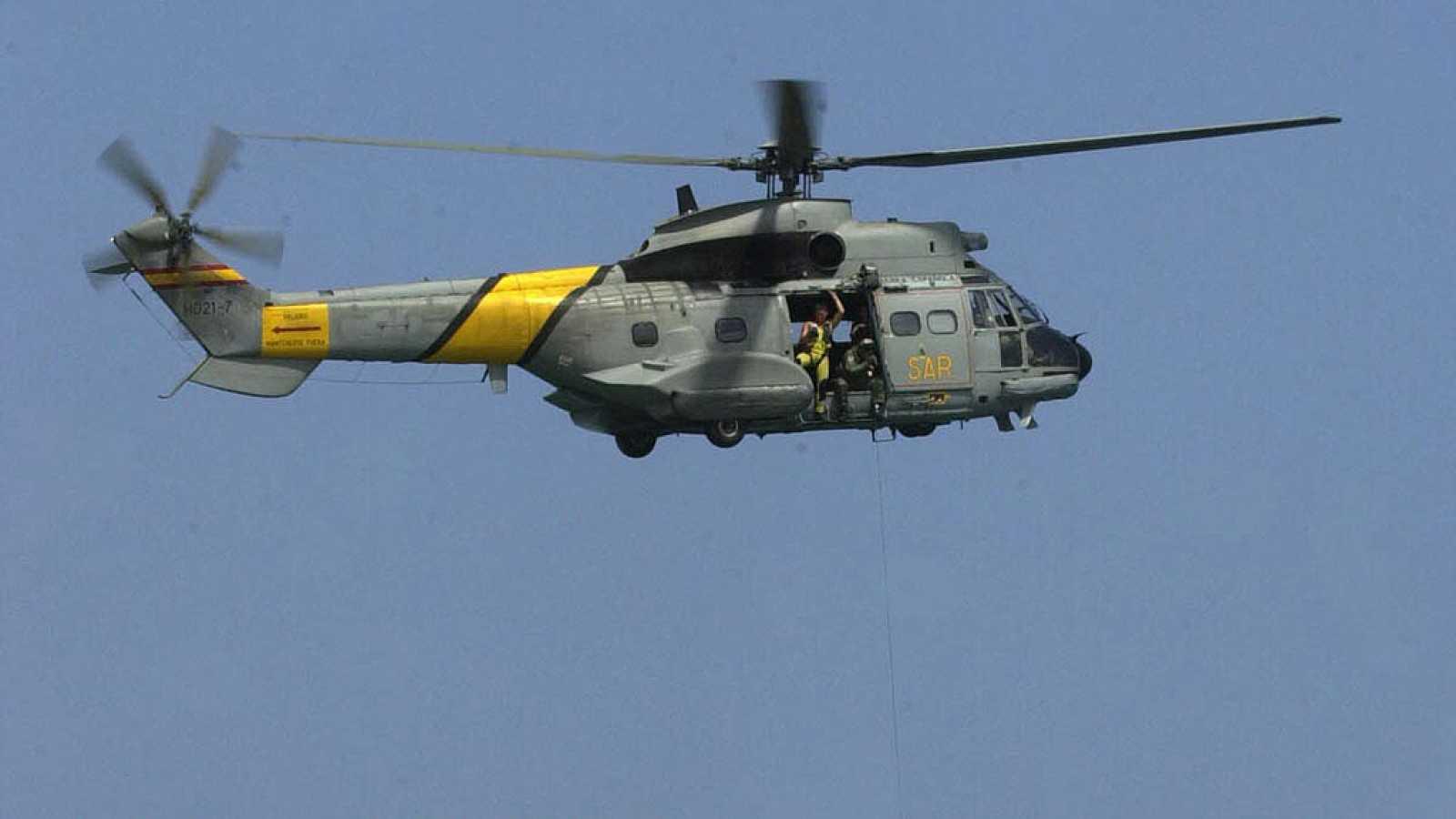 Continúa la busqueda de los militares desaparecidos el jueves en ...