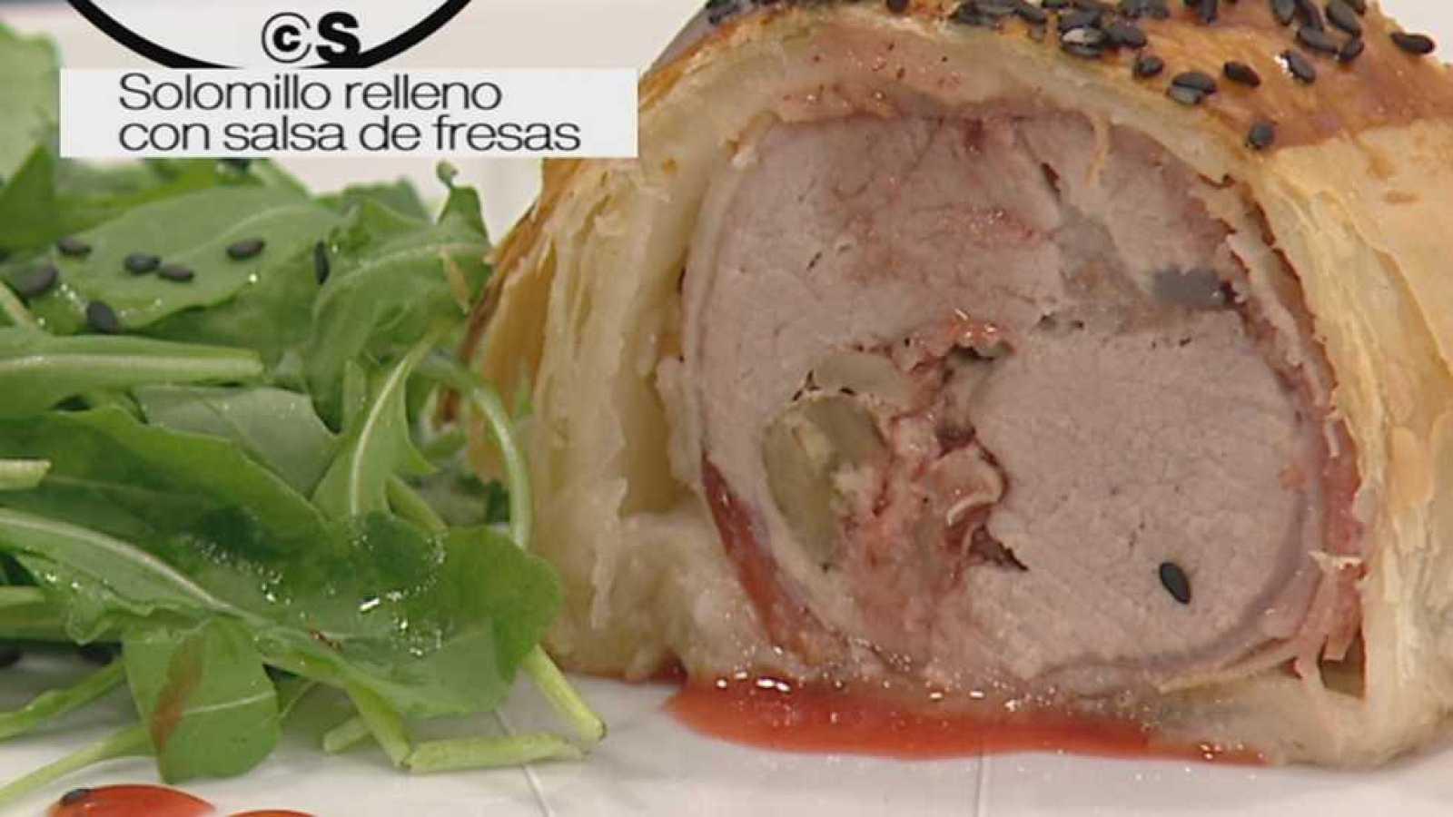 Cocina Con Sergio Solomillo Relleno Hojaldrado Con Salsa De  ~ Solomillo Wellington Masterchef Receta