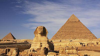 La pirámide de Keops presenta diferentes temperaturas