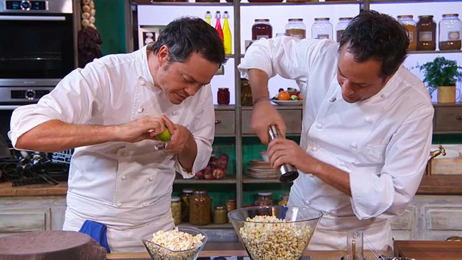Receta de Palomitas de maíz caseras - Torres en la Cocina - RTVE.es