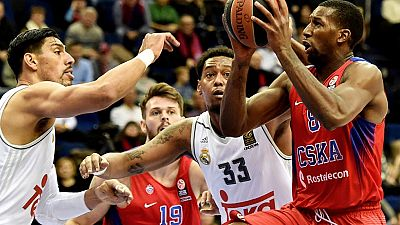 CSKA Moscú 95-81 Real Madrid