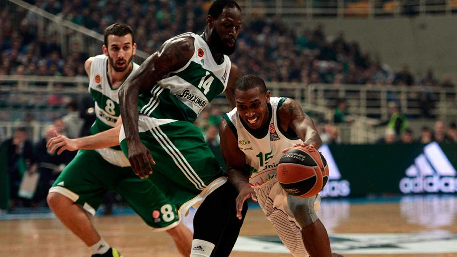 Panathinaikos 68-66 Unicaja