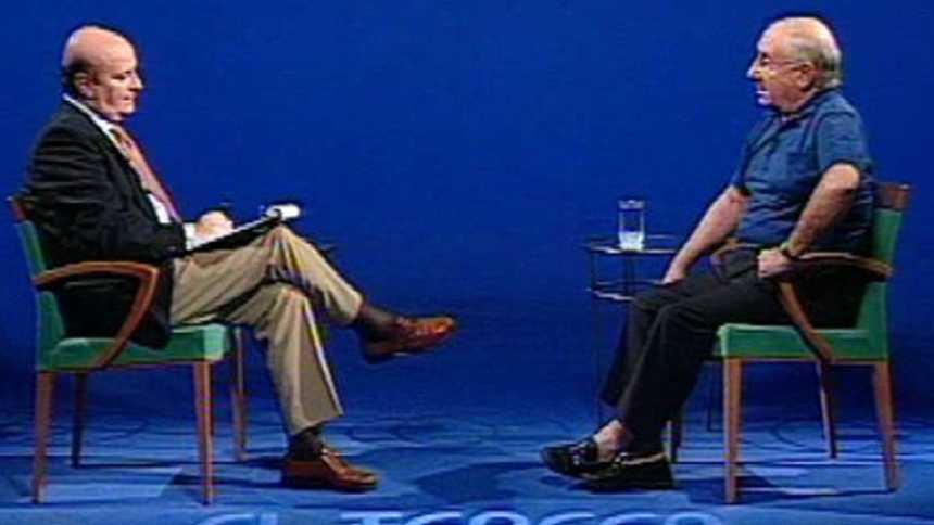 """Alfredo Landa en """"El Tercer Grado"""" en 2003"""