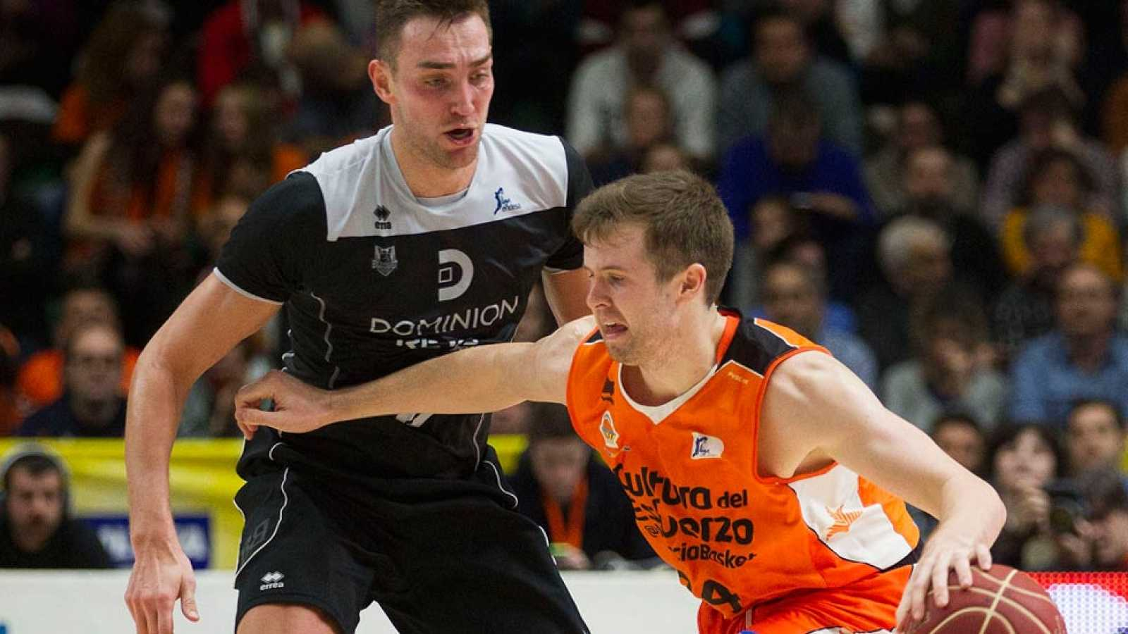 Valencia Basket 85-49 Dominion Bilbao Basket