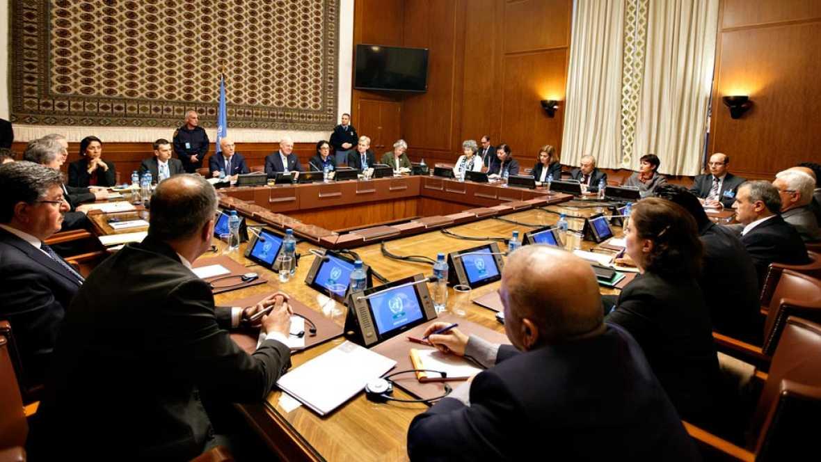 La ONU abre en Ginebra las negociaciones de paz sobre Siria después de convencer a la delegación de la oposición