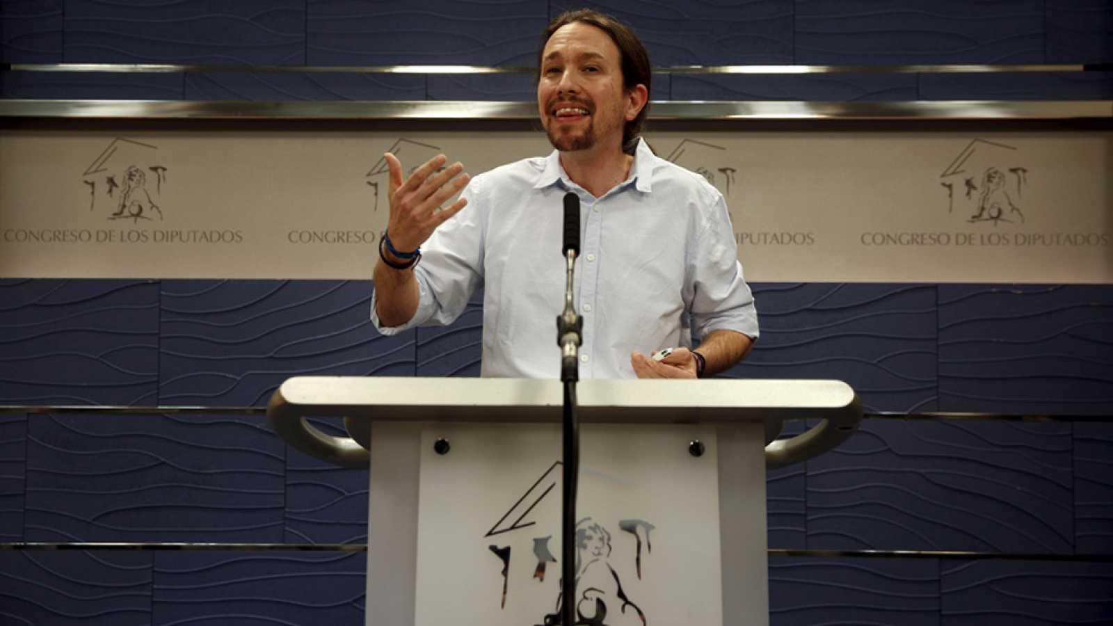 Pablo iglesias critica que pedro s nchez trate de vender for Acuerdo de gobierno psoe ciudadanos