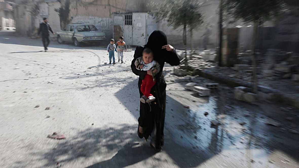 La tregua para Siria, un pacto incierto mientras siguen los combates