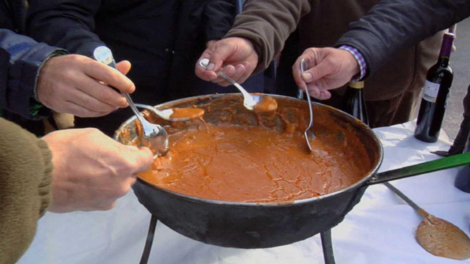 gazpacho manchego receta arguiñano