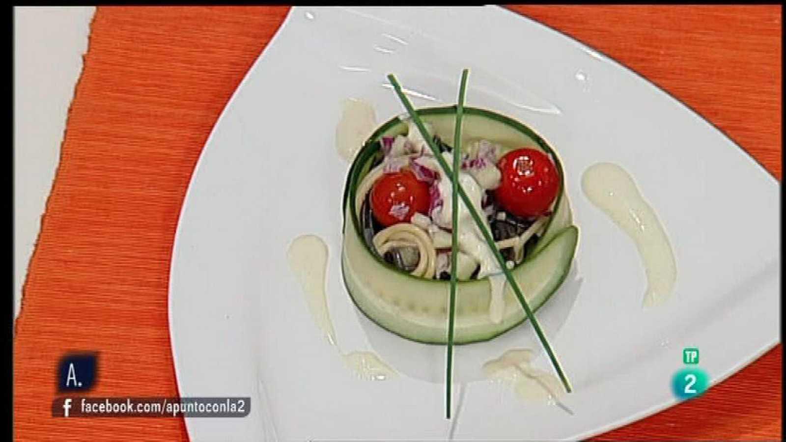 Ensalada de pasta fresca a la mostaza - Ensalada fresca de pasta ...