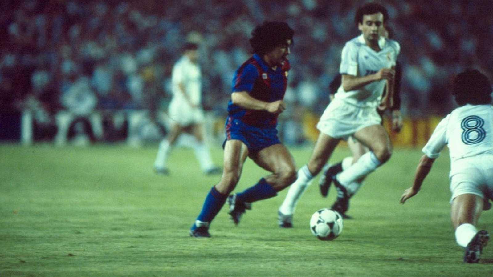 Resultado de imagen de REAL MADRID 0-BARCELONA 2 - 27 NOVIEMBRE 1982