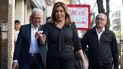 """Susana Díaz insiste en que Madina tiene que ser diputado por su """"valía"""""""