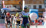 La etapa reina del Giro marca las diferencias en favor de Kruijswijk, Nibali y Chaves