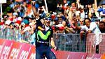Valverde gana la decimosexta etapa, Kruijswijk sigue líder en el Giro