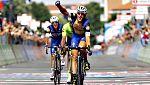 El italiano Trentin gana en Pinerolo