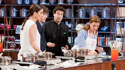 MasterChef 4 - Enfrentamiento entre Virginia y Rocío en la final